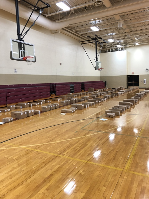PPE Fundraiser packages will be ready to be picked up soon!! 3:00-5:30 in the Koch Elementary Gymnasium. Please enter through the gym doors. Thank you for supporting our local PPE group!