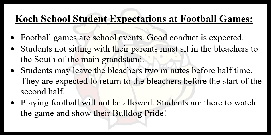 Football Game Expectations