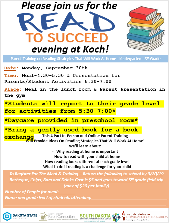 Read to Succeed Night